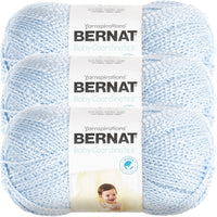 Bernat® Baby Coordinates™ Yarn Soft Blue Multipack Of 3