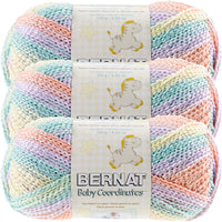 Bernat® Baby Coordinates™ Ombre Yarn Cotton Candy Multipack Of 3
