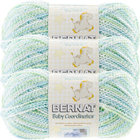 Bernat® Baby Coordinates™ Ombre Yarn Funny Prints Multipack Of 3