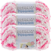 Bernat Pipsqueak Yarn Pink Swirl Multipack Of 3