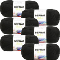 Bernat® Satin™ Yarn Ebony Multipack Of 6