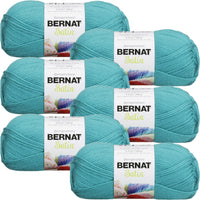 Bernat® Satin™ Yarn Aqua Multipack Of 6