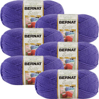 Bernat® Satin™ Yarn Grape Multipack Of 6