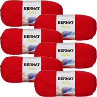 Bernat® Satin™ Yarn Crimson Multipack Of 6