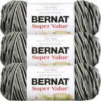 Bernat Super Value Ombre Yarn Hi Tech Multipack Of 3