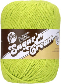 Lily® Sugar'n Cream® Yarn Super Size Hot Green Multipack Of 6