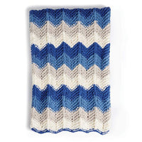 Radiant Ripple Knit Blanket
