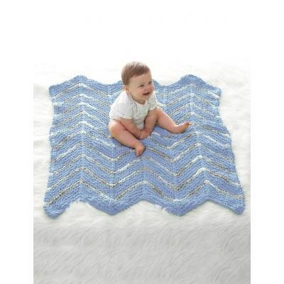 Bernat Baby Blanket Smooth Sailing Baby Waves