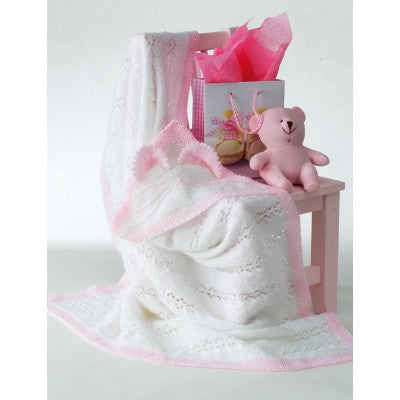 Bernat Baby Yarn Kitty Blanket