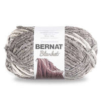 Bernat Blanket Big Ball Yarn Silver Steel