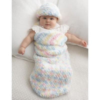 Bernat Pipsqueak Baby Cocoon and Hat