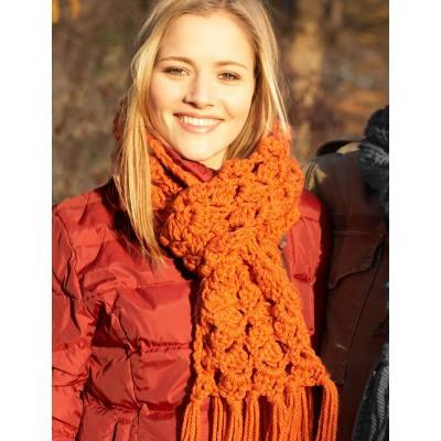 Bernat Softee Chunky Easy Scarf To Crochet