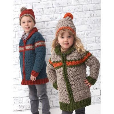 Bernat Softee Chunky Kiddie Car Coat