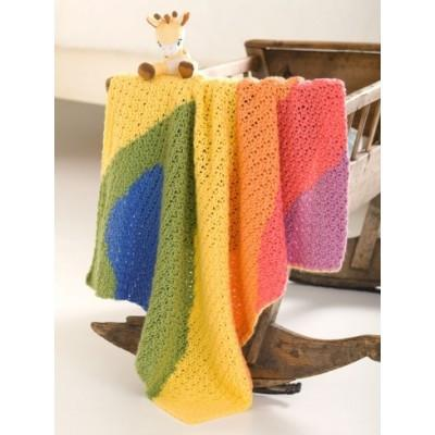 Caron Simply Soft Baby Waves Blanket
