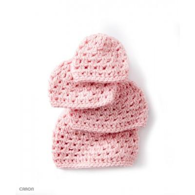 Caron Simply Soft Babys First Cluster Hat