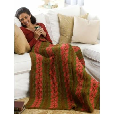 Caron Simply Soft Bargello Throw