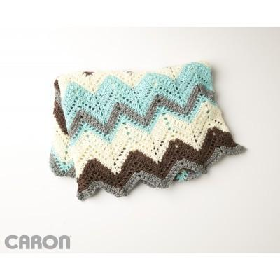 Caron Simply Soft Cabin In the Woods Afghan