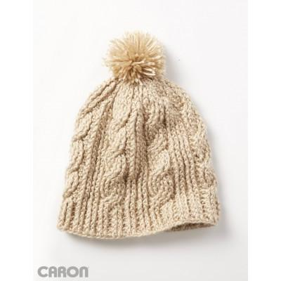 Caron Simply Soft Cable Twist Hat