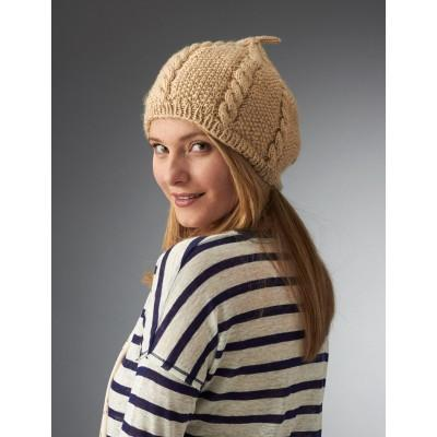 Caron Simply Soft Cabled Beret
