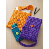 Caron Simply Soft Cell Phone Or Tablet Cozy