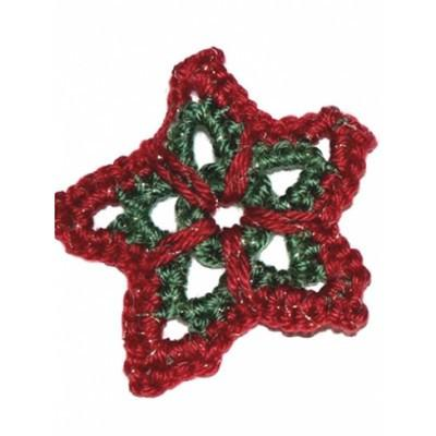 Caron Simply Soft Christmas Star Ornament