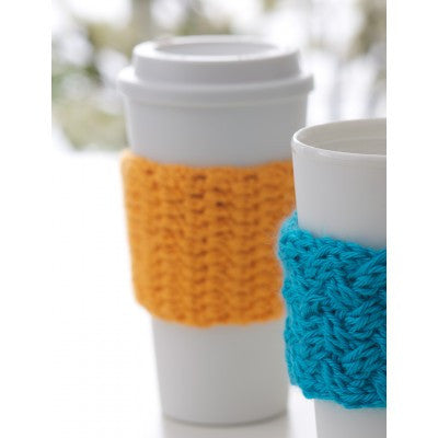 Caron Simply Soft Coffee On the Go Crochet Cozy