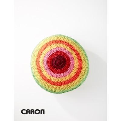 Caron Simply Soft Color Wheel Pillow