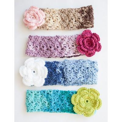 Caron Simply Soft Cozy Posy Headband