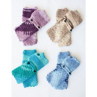 Caron Simply Soft Cozy Pozy Fingerless Gloves
