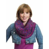Caron Simply Soft Criss Cross Cowl
