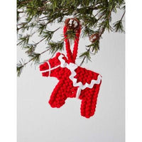 Caron Simply Soft Dala Horse Ornament