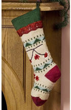 Caron Simply Soft Folkways Christmas Stocking