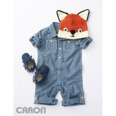 Caron Simply Soft Fox Hat