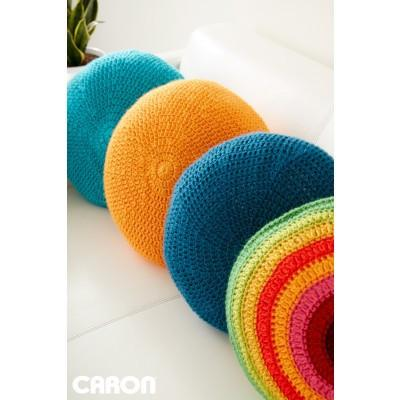 Caron Simply Soft Full Circle Pillow