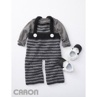 Caron Simply Soft Funny Dungarees