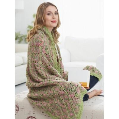 Caron Simply Soft Garden Path Throw
