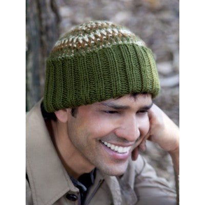 Caron Simply Soft His Tri Color Hat