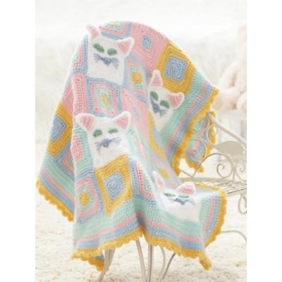 Caron Simply Soft Kitty Blanket