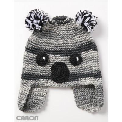 Caron Simply Soft Koala ty Hat