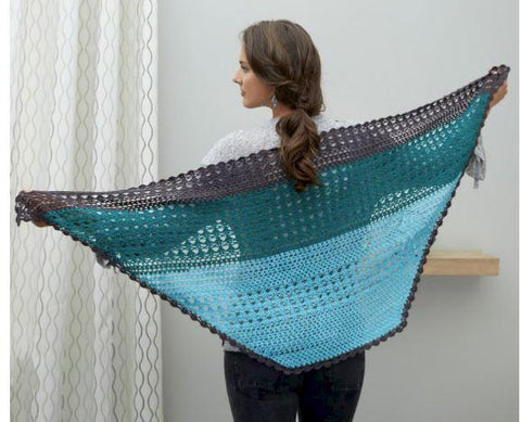 Changing Colors Shawl