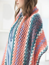 Fringed Shawl Crochet