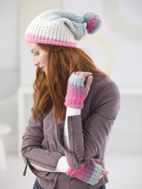 Hat And Mitts Crochet