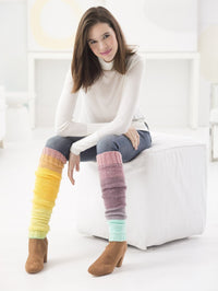 Helix Leg Warmers Knit