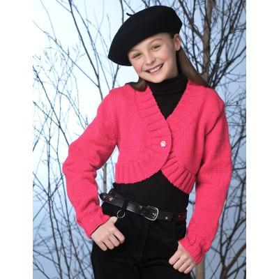 Patons Astra Knit Bolero Child