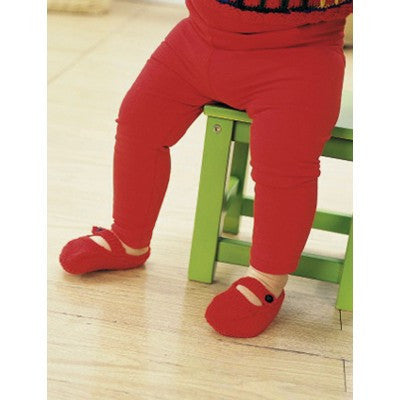 Patons Astra Little Red Shoes (knit)