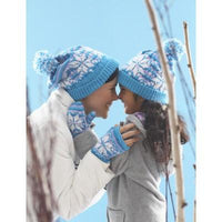 Patons Astra Snowflake Hat and Mittens