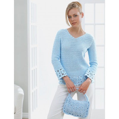 Patons Grace Lacy Tunic and Purse