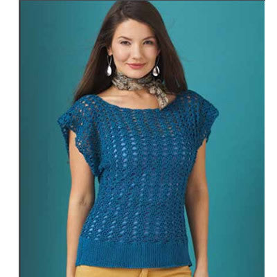 Patons Grace Openwork Top