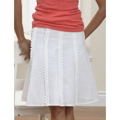 Patons Grace Vertical Edging For Skirt