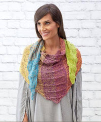 Small Shapes Shawl Free Knitting Pattern